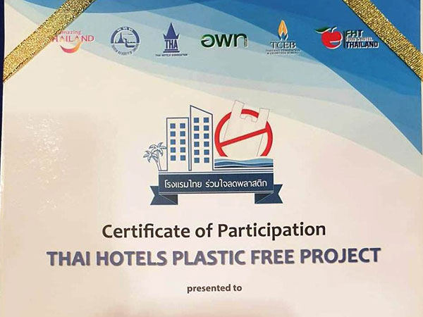 Thai Hotels Plastic Free Project - Activities & Event